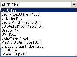 Cut3D Open File